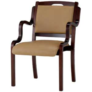 介護・福祉施設向け椅子 肘掛タイプ IKD-04 二脚セット