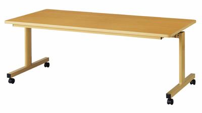 跳ね上げ式テーブル TM-1890 介護施設向けテーブル 180×90