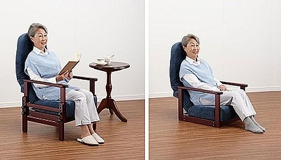 座椅子にもなります