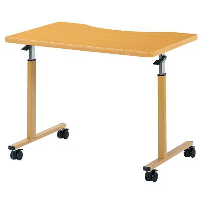 介護施設向けキャスターつき高さ調節テーブルパーソナルシリーズ TOB-0960Q