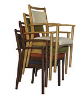スタックEVO 施設向け椅子の説明