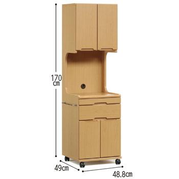 床頭台ハイタイプ
