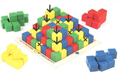 しりとりブロックくずしの取れるブロック