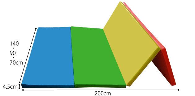 折りたたみプレイングマット 70×200の説明