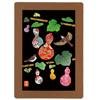 介護レクリエーションキット 型抜き絵アート 六瓢箪23ピースKA03 6個セット