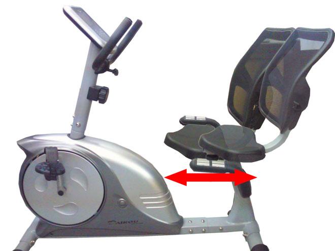 家庭用フィットネスバイク 電動負荷式 DK-4080UA
