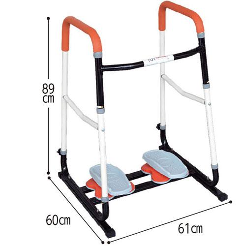 歩行訓練器具 楽々歩・ららぽ ロコモ予防のサイズ