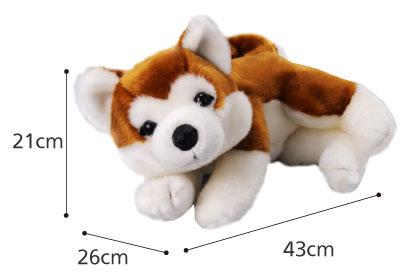 なでなでワンちゃん 秋田犬 HACHI(ハチ)のサイズ