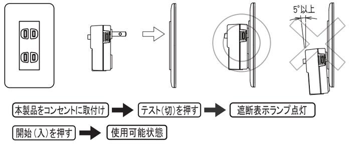 感電タップ とめ太郎 震度5で電気を遮断