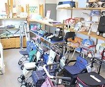 介護用品のショールーム