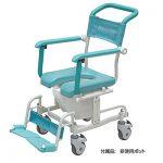 お風呂・トイレ用車椅子を2点、自走用車いすを3点、プチトレサイクルを1点、追加しました!